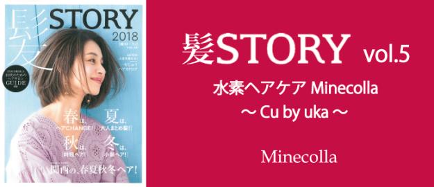 ミネコラHP 髪STORY