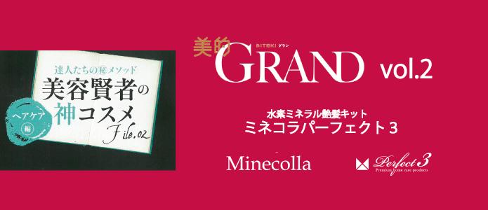 ミネコラHP 美的GRAND3